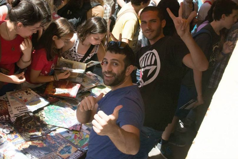 A pic from this years Free Comic Book Day event
