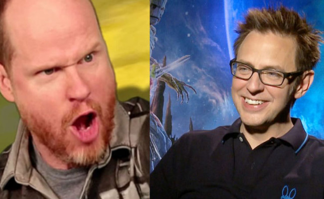 JAMES GUNN and JOSS WHEDON Fought Over Thanos.  JAMES GUNN Won.