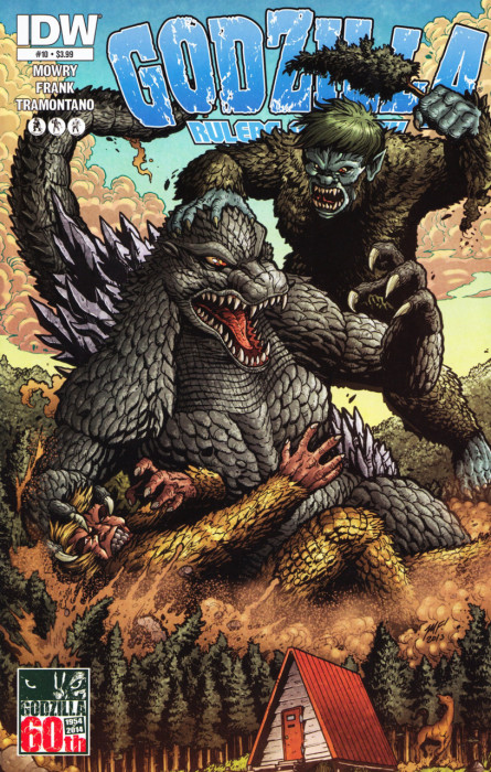 Godzilla meets Sanda and Gaira!