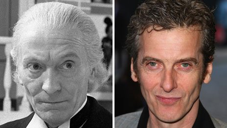 Capaldi and William Hartnell were both picked to play THE DOCTOR at the ripe age of 55!