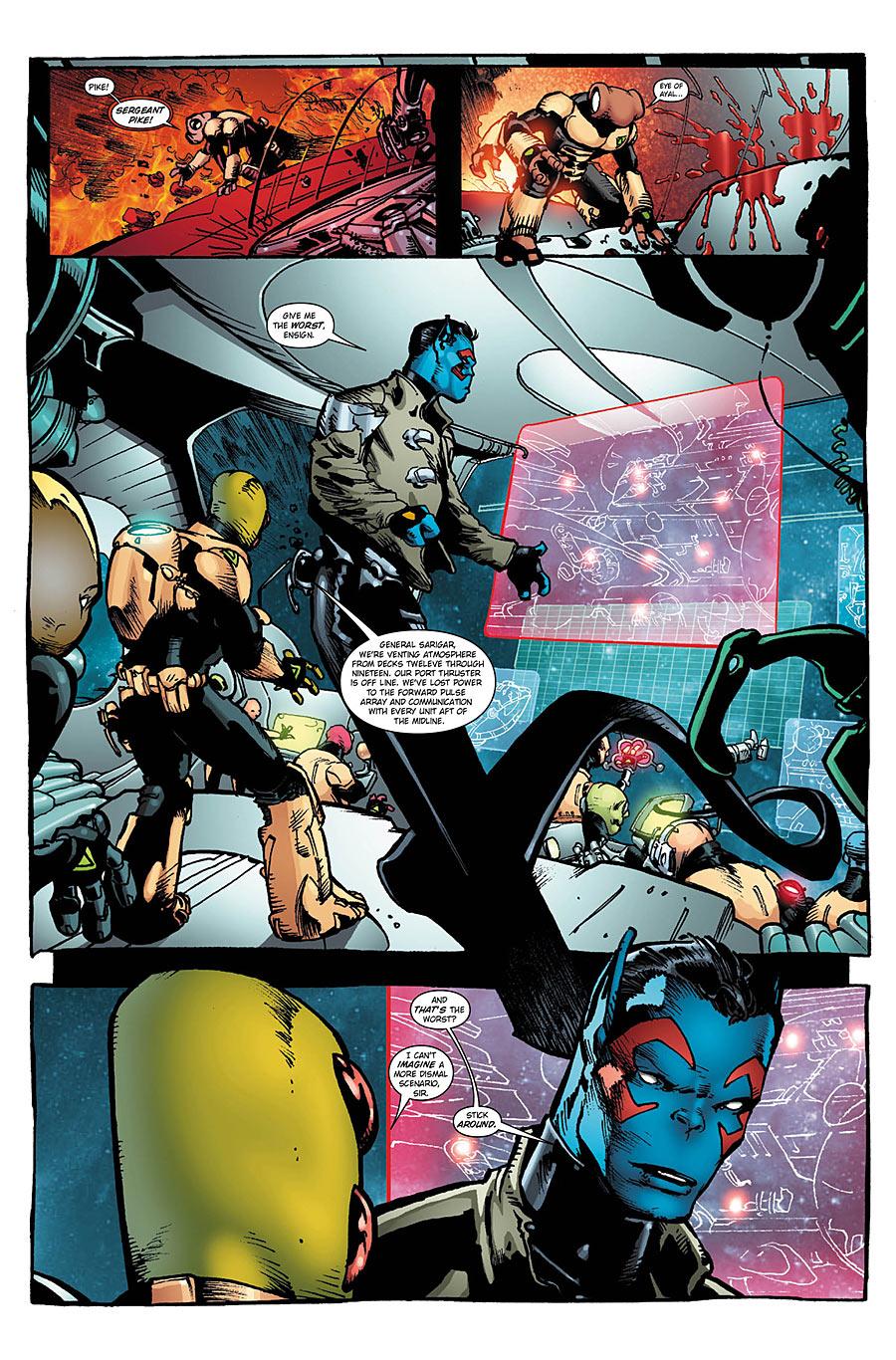 Alien Legion Uncivil War #4 preview