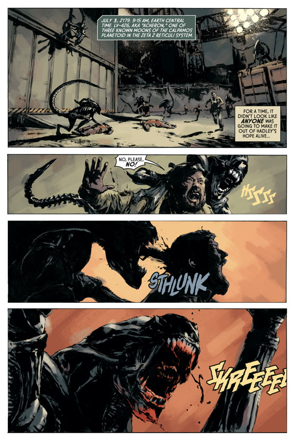 Aliens-Fire and Stone 1_Preview Page