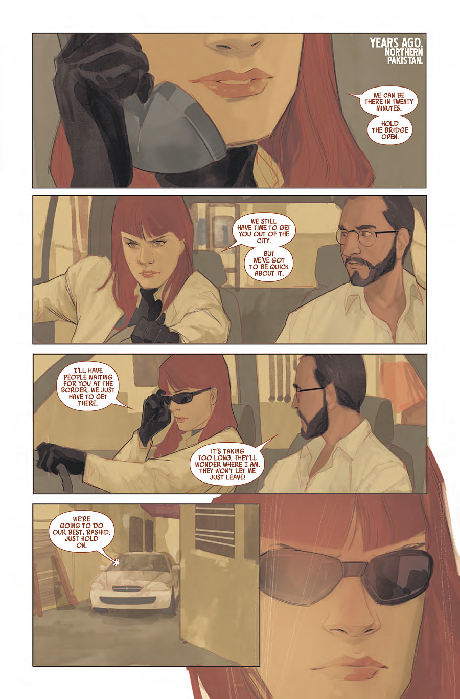 Black Widow #10 preview