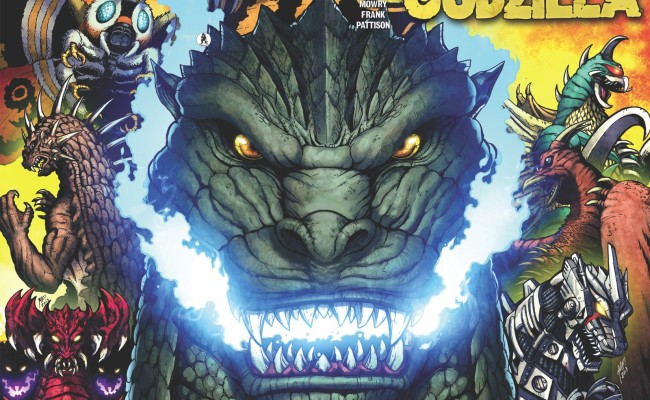 Top 5 Comic Book Reads For Any GODZILLA Fan