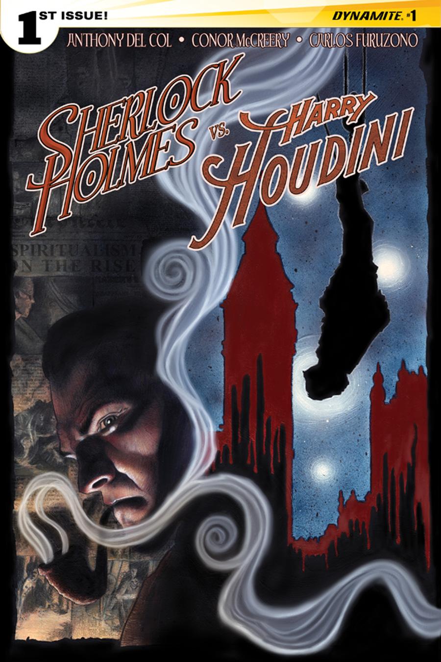 HolmesHoudini01CovWorley