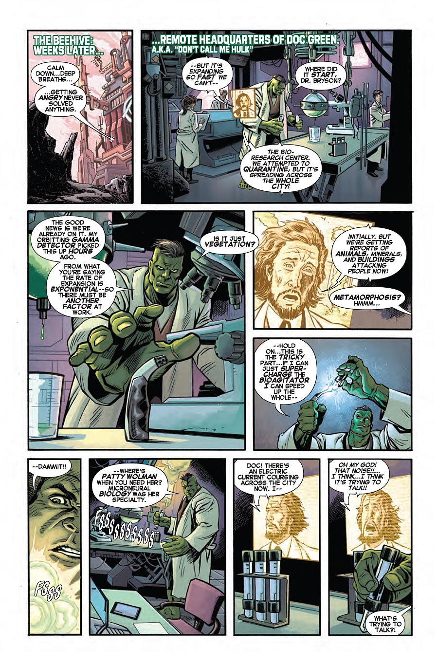 Hulk Annual #1 preview