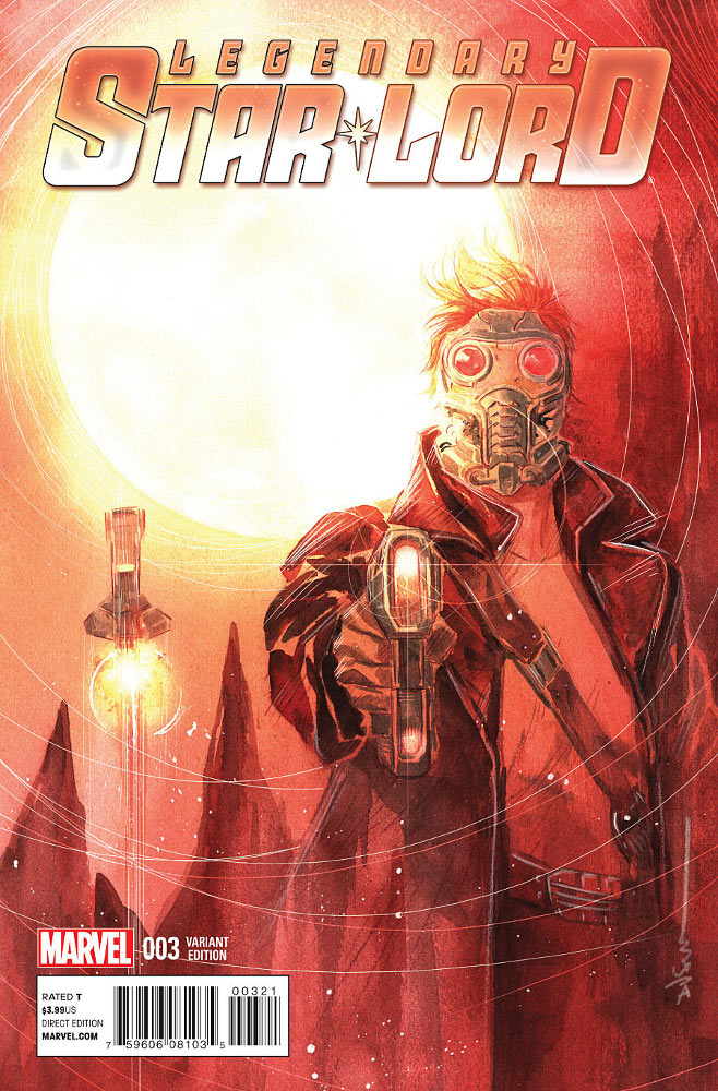 Legendary Star-Lord 3_Variant Cover