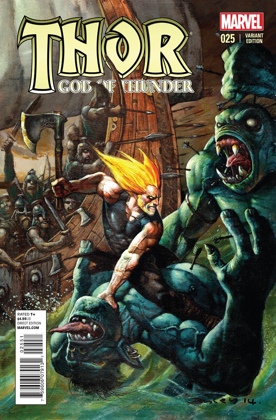 Thor God of Thunder #25 variant