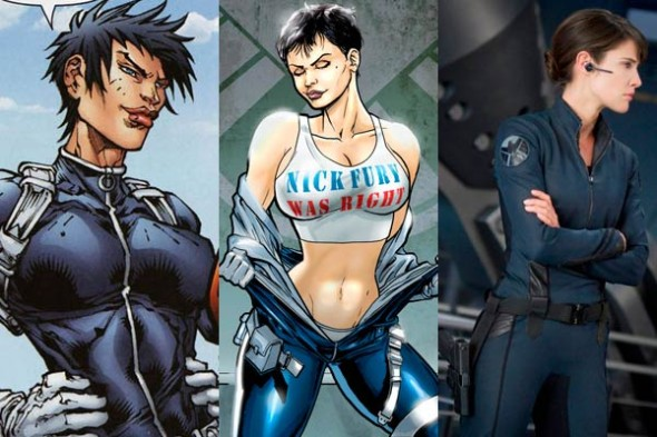 Maria Hill became a staple in S.H.I.E.L.D since the early 2000s becoming director after the Secret War debacle.