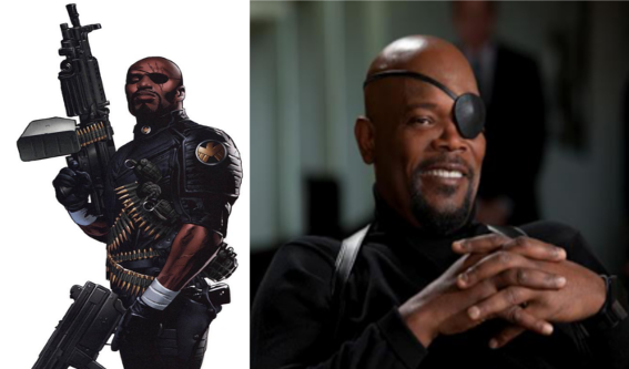 The Ultimate comic series brought us a different Nick Fury; one that Samuel L. Jackson was born to play