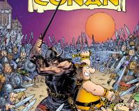 Groo vs. Conan #4 Review