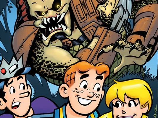 ARCHIE MEETS PREDATOR crossover is coming. What?!