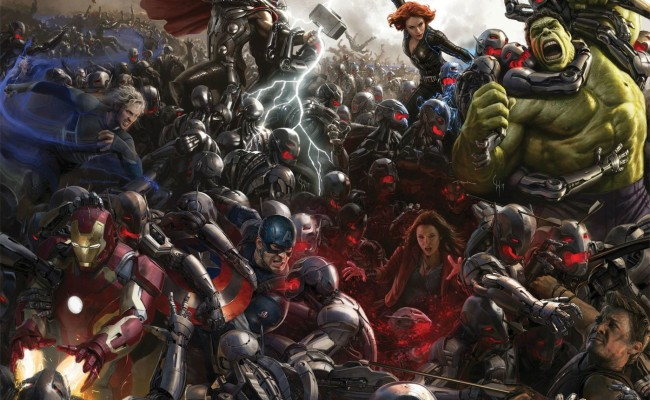 MARVEL's New AGE OF ULTRON Trailer — We Can't. Stop. Smiling.