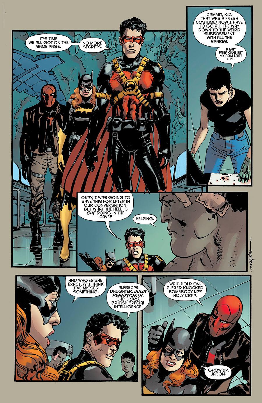 Batman Eternal #26 preview
