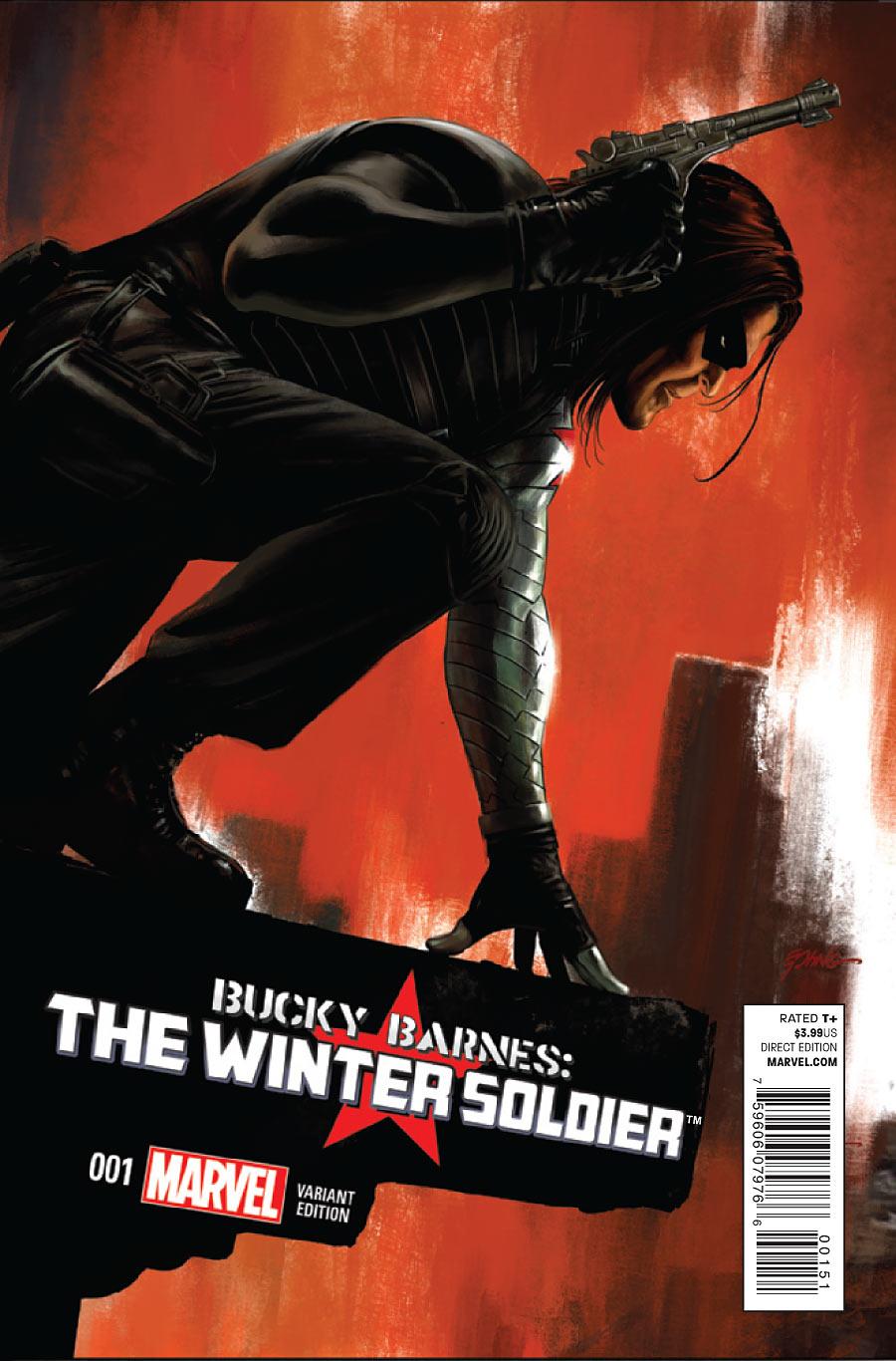 Bucky Barnes Winter Soldier #1 variant
