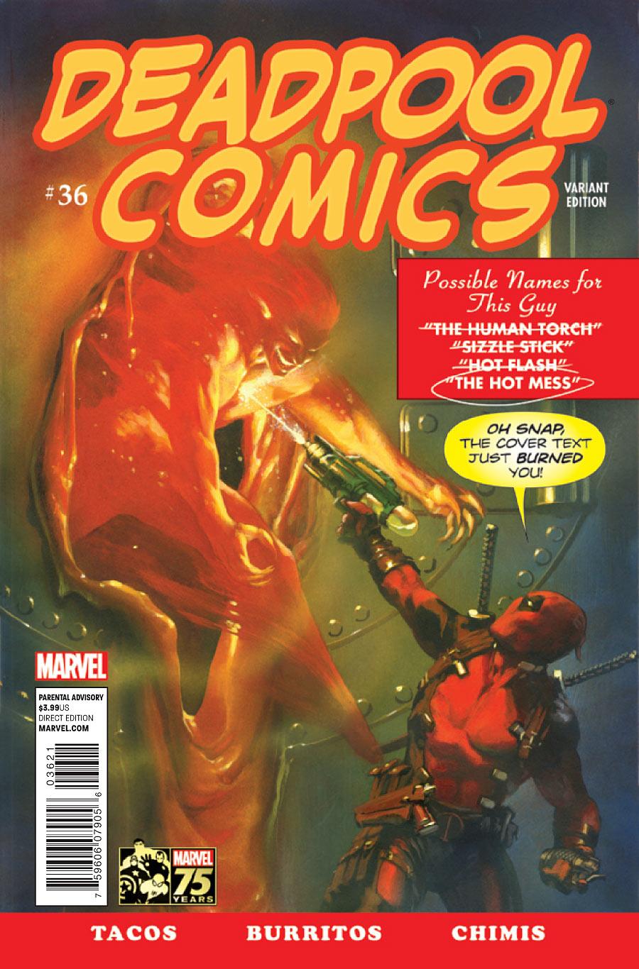 Deadpool #36 variant