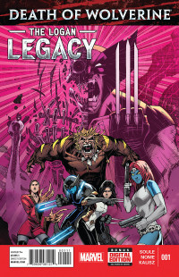 Death of Wolverine The Logan Legacy #1