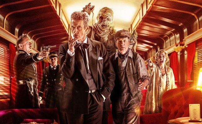 "DOCTOR WHO ""Mummy on the Orient Express"" Review"