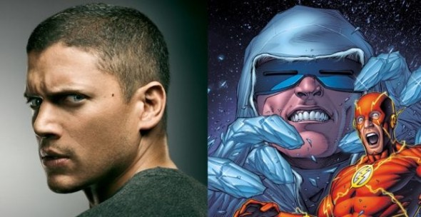 Wentworth Miller will play Captain Cold of the original Rogue's Gallery!