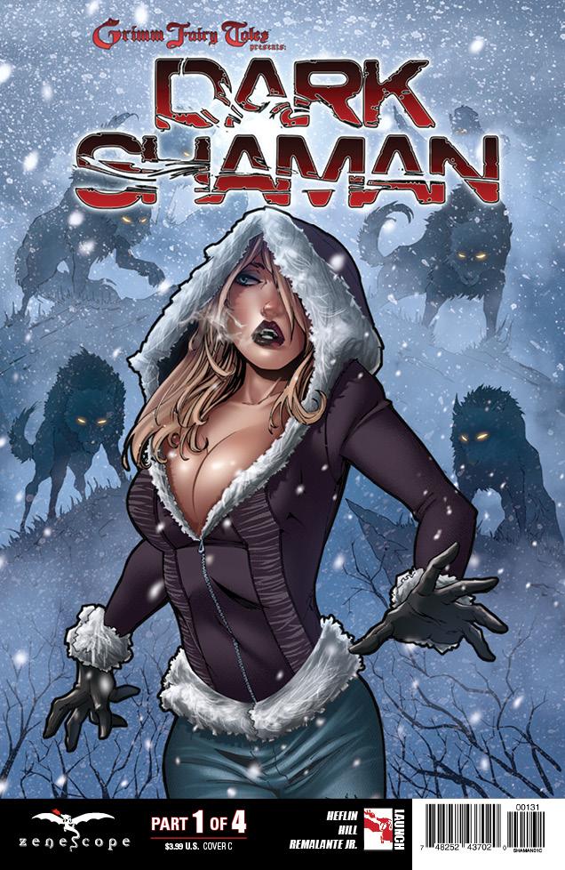 GFT Dark Shaman 1_Variant Cover