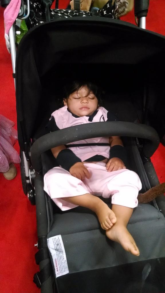 Sleeping baby Goku!