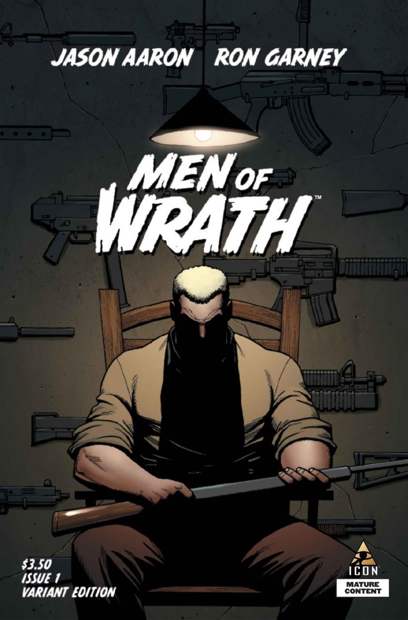 Men of Wrath #1 variant