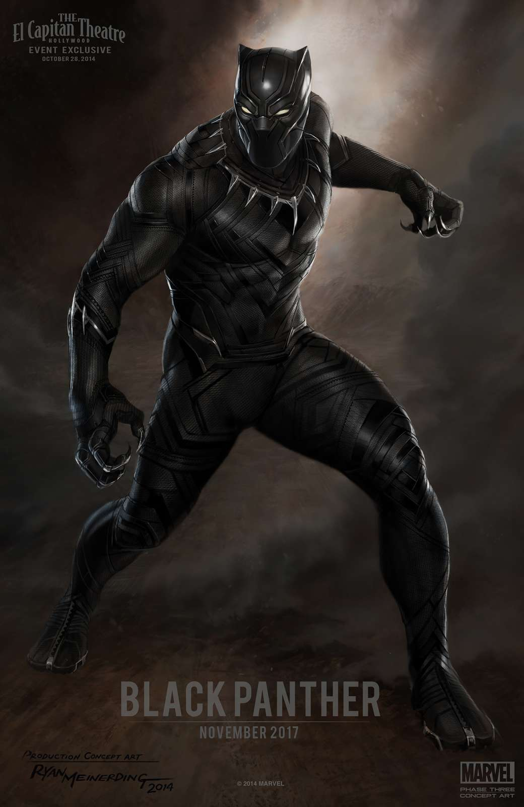 Official BLACK PANTHER concept art