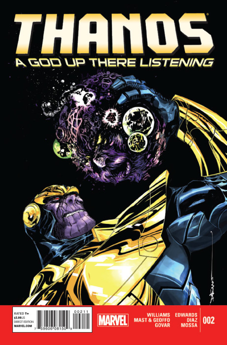 Thanos A God Up There Listening 2 Cover