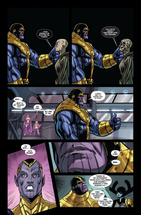 Thanos A God Up There Listening 2 Preview 2