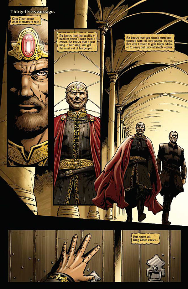 The Blood Queen Annual 2014_Preview Page