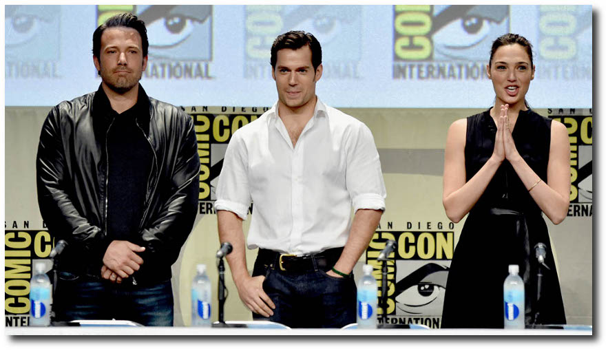 The Trinity at SDCC Widescreen