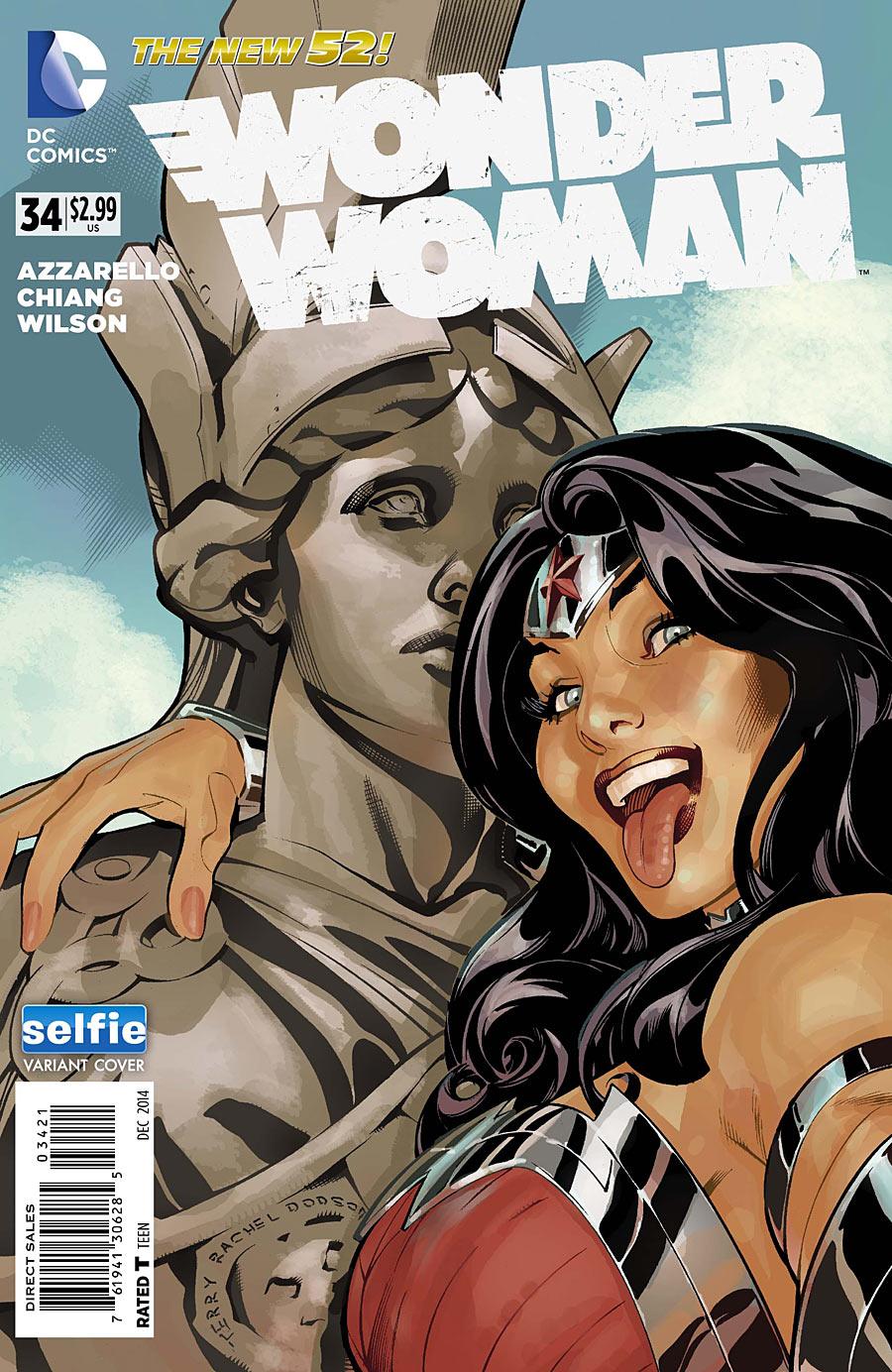Wonder Woman 34_Selfie Variant