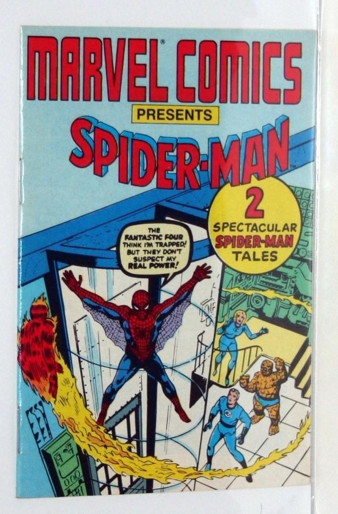 mini comic spider-man