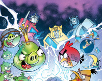 ANGRY BIRDS/TRANSFORMERS #1 Review