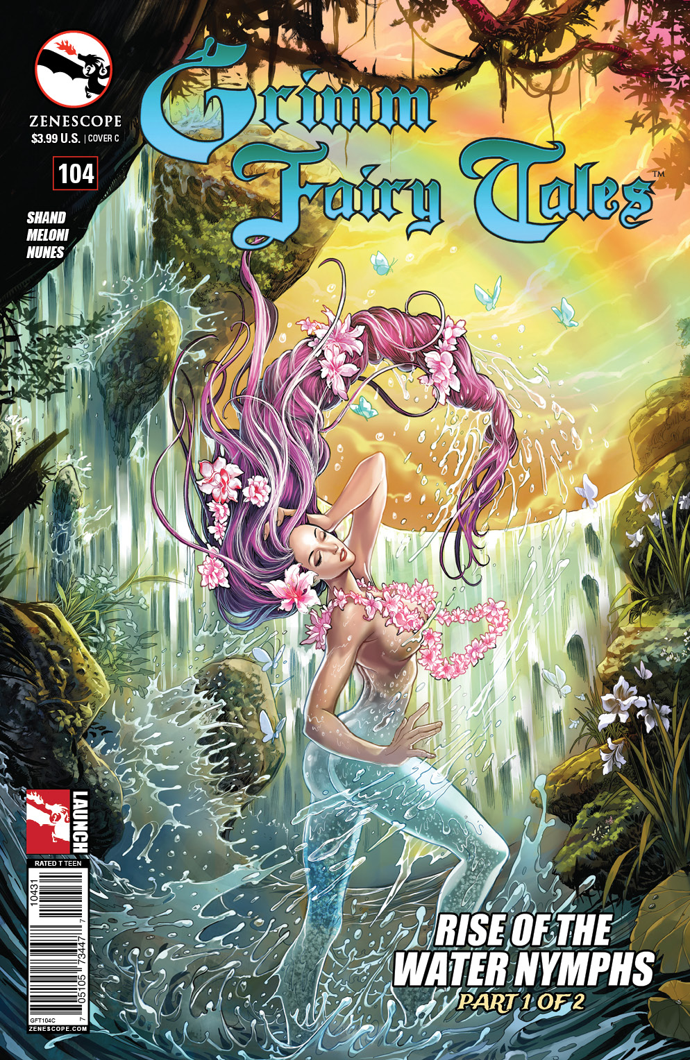 Grimm Fairy Tales 104_Variant Cover