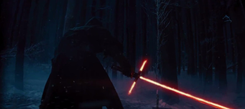 Kylo Ren lightsaber The Force Awakens