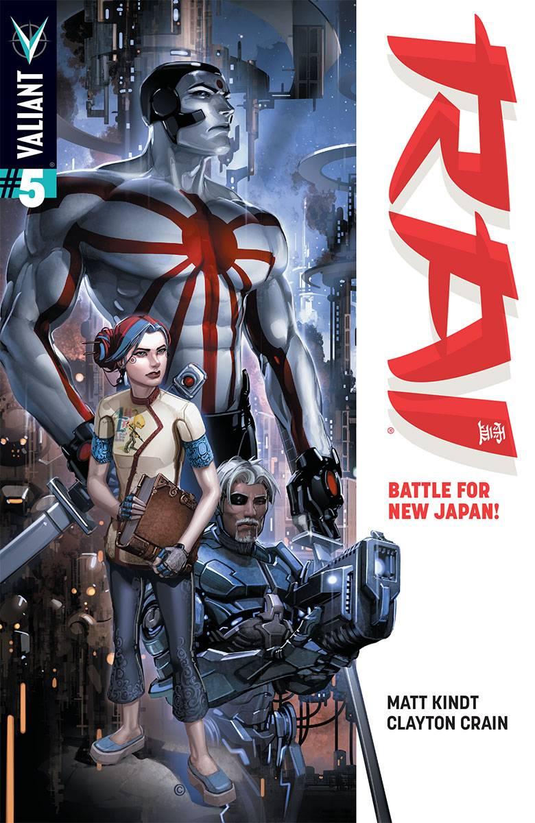 RAI #5 Cover