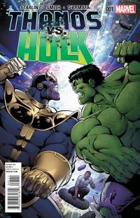Thanos vs Hulk 1 Cover