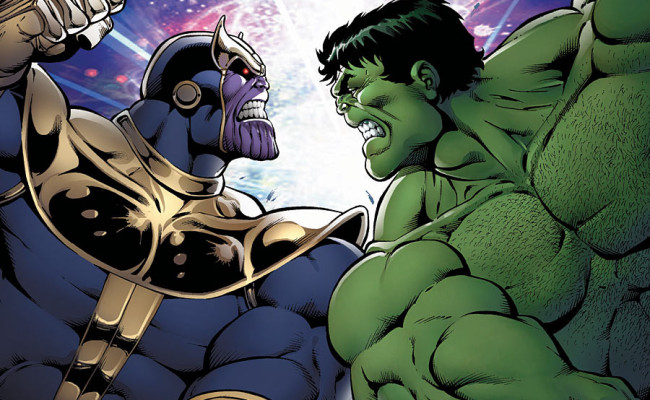 Thanos vs. Hulk #1 Review