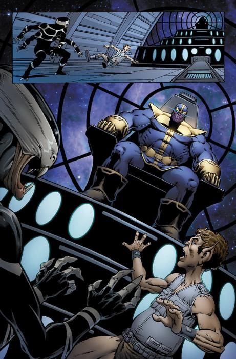 Thanos vs Hulk 1 Preview 1