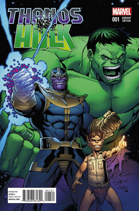 Thanos vs Hulk 1 Variant Cover