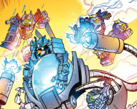 Angry Birds/Transformers #3 Review