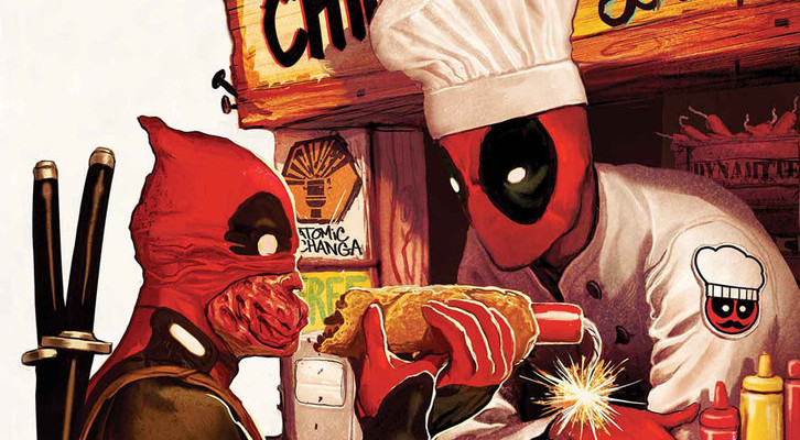 Deadpool Eats to Celebrate Canada