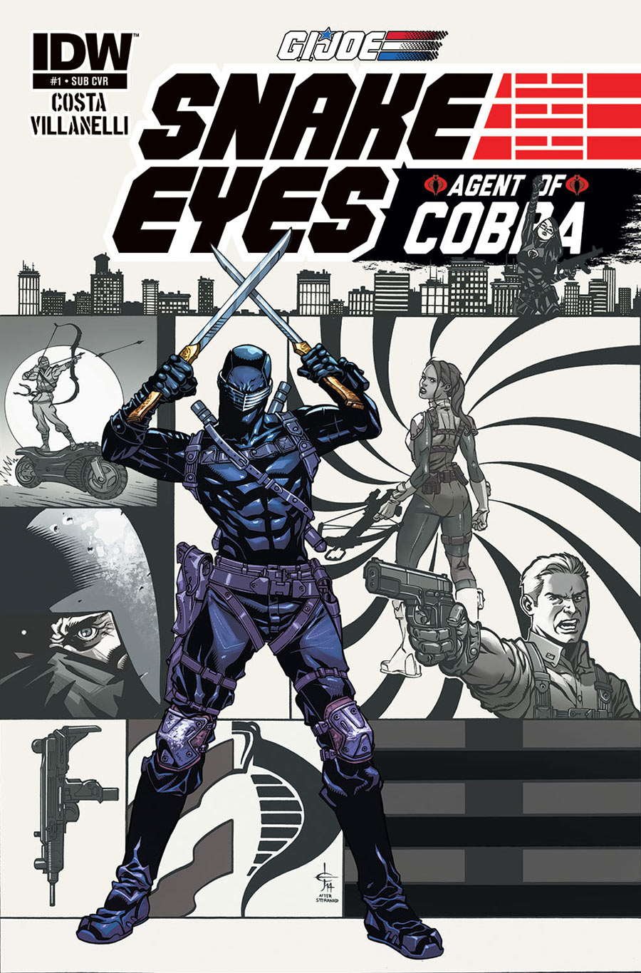 G.I Joe_Snake Eyes_Agent of Cobra_1_Cover 2