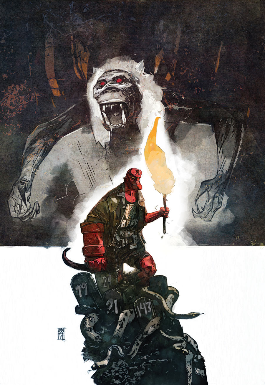 Hellboy and the B.P.R.D. 1952 2_Preview Cover