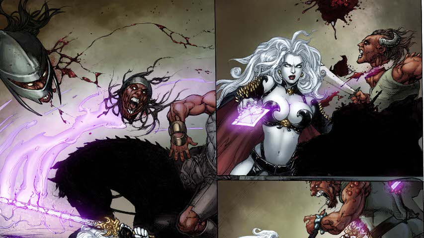 Lady Death Preview A Widescreen