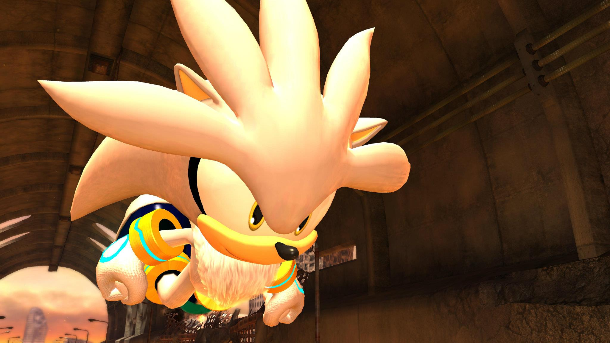 Silver is Sonic '06