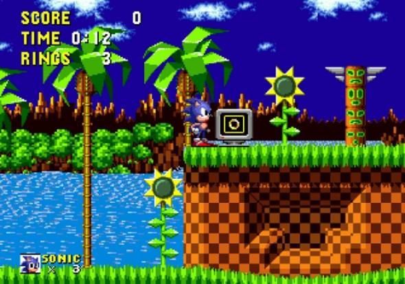 Sonic Gameplay