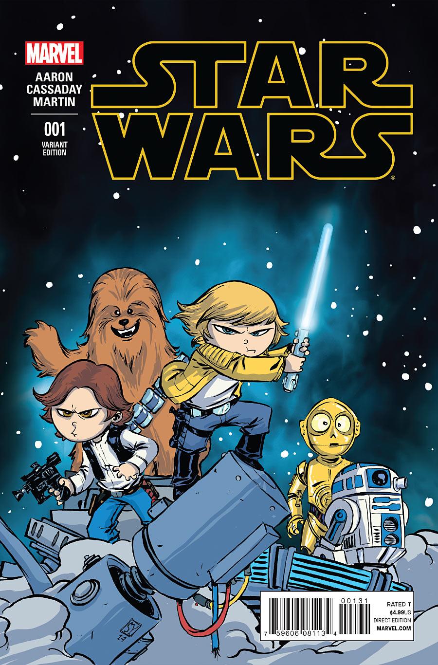 Star Wars #1 Skottie Young