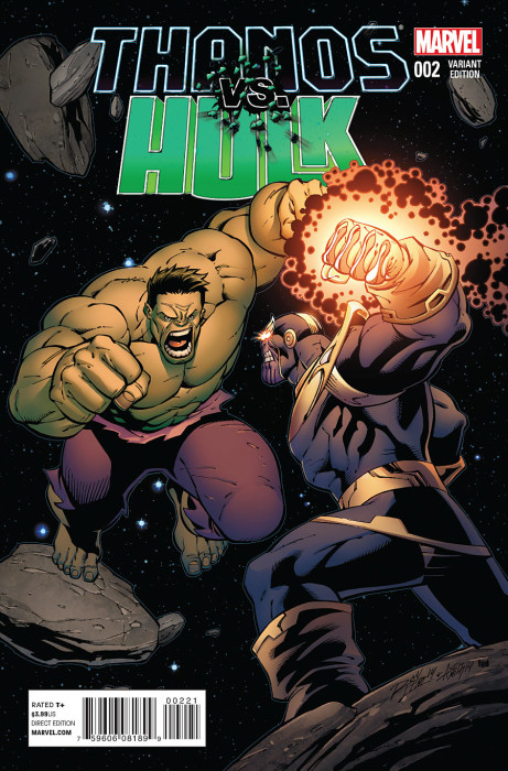 Thanos vs Hulk 2 Lim Cover